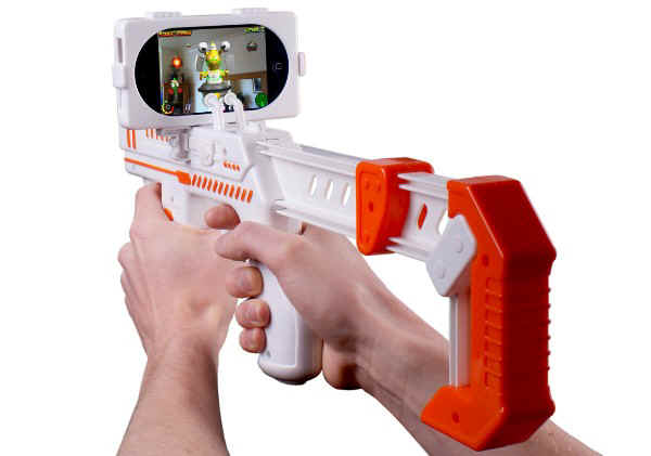 Well there it is -  the iPhone GameGun.